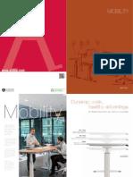 Mesas Mobility Catalogo