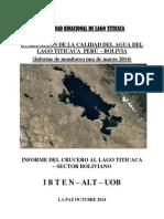 Informe Crucero Lago Titicaca - Ibten Alt Final