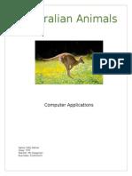palmer polly australian animals