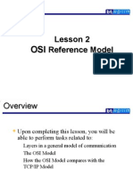 Lesson 2 OSI Reference Model