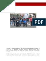 Las discapacidades en El Peru y Piura