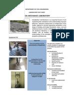 SoilMechanics Laboratory fact sheets