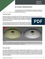 Light Setup and Optimization