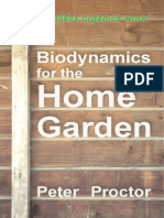 Biodynamics for the Home Garden