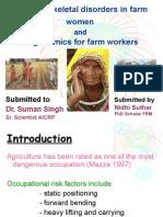 Musculoskeletal Disorders in Farm Women