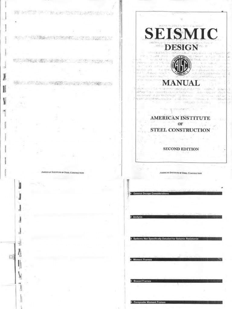 aisc seismic design manual 3rd edition pdf