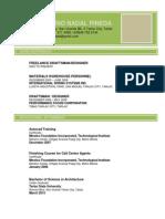 PHNPineda Resume 2015 With Sample Works