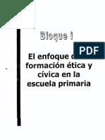 FORMACIÓN CÍVICA Y ÉTICA EN LA ESCUELAPRIMARIAII (2)