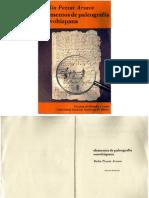 Delia Pezzat Arzave Elementos de Paleografia Novohispana UNAM 1990