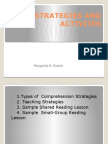 strategies and activites-power point