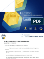 2. Rendón Huerta, Teresa. PPT. Estado Constitucional de Derecho