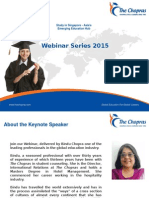 Webinar on Study in Singapore - Asia's Emerging Education Hub