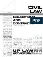 UP 2010 Civil Law Obligations and Contracts