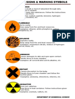 Hazardous Sign