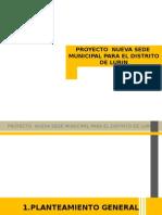 sede municipal  para el distrito de lurin.ppt