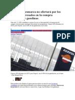 Repsol Se Desmarca - No Ofertará Por Los 211.000 Interesados en La Compra Colectiva de Gasolinas 13 05 2014