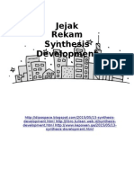Jejak Rekam Synthesis Development