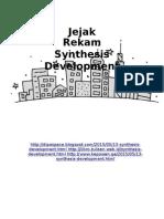 Jejak Rekam Synthesis Development
