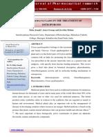 CISSUS QUADRANGULARIS IN THE TREATMENT OF OSTEOPOROSIS