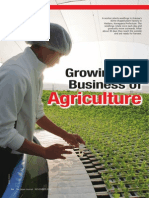 Growing the Business of Agriculture