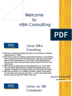 HR Consultants With HBA Consulting