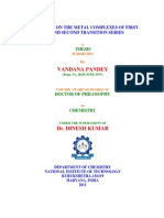 Ms Vandana Pandey PhD Thesis