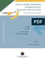 IFR 3.Selección de Máquinas y Equipos