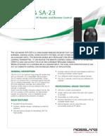 AY-L23 SA-23 Datasheet v01-290713 - English - A4