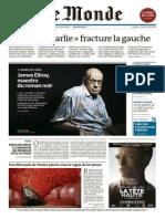 Le Monde  du vendredi 08 mai 2015