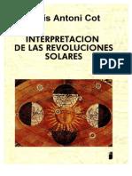 Interpretación de Las Revoluciones Solares