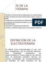 La Electroterapia