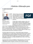 Mattozzi Didatica Historia Ed Patrimonio
