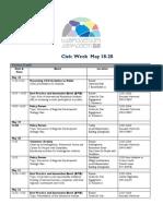 Regional Civic Week