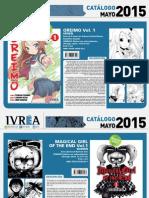 Proximas Novedades Ivrea - Mayo 2015