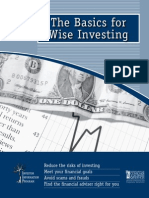 The Basics for Wise Investing