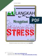20 Langkah Mengatasi STRESS