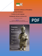 Yoruba Aesthetics at the Confluence of Disciplines Rowland Abiodun's Yoruba Art and Language