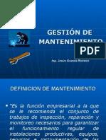 Gestión de Mantenimiento y Seguridad Industrial
