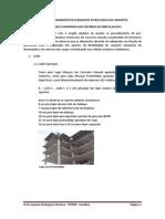 Pré-dimensionamento de elementos estruturais em concreto armado - UTFPR