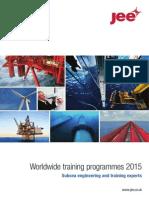 2015 Course Brochure - Jee