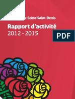 Rapport d'Activité 2012 - 2015