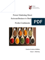 Proiect Marketing Direct