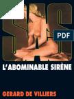 SAS 013 - L Abominable Sirene Gerard de Villiers