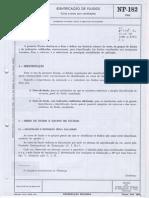 NP 182-1966-Identificação de Fluídos
