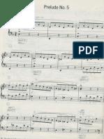 Bach Prelude d Minor