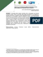 Chaves, c.a.b.m. a Abordagem Em Apls e o Desenvolvimento Regionallocal Reflexões Sobre as Conexões Deste Debate