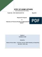 MHA Nationwide Emergency Response System RFP 0