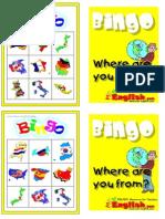 Bingo de Paises