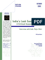 India Look East Policy - Critical Assessment