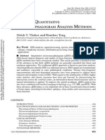 20040402-Advances in Quantitative Electroencephalogram - Analysis Methods (Nitish v. Thakor and Shanbao Tong)